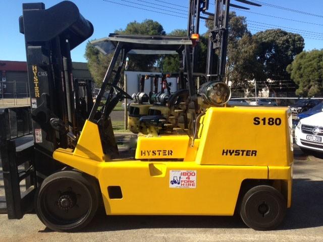 Hyster S180XL/2 LPG / Petrol Counterbalance