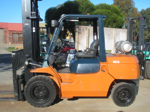 Toyota 7FG45 Forklift For Hire