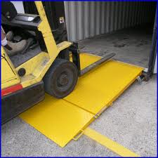 Container Ramp 6500 kg Capacity
