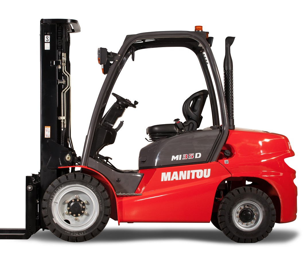 NEW MANITOU MI30 - EUROPEAN DESIGN - JAPANESE RELIABILITY